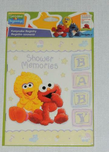 Sesame street baby shower ebay - Sesame street baby shower ...
