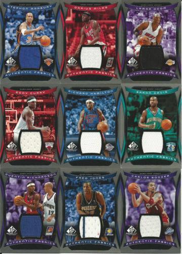 NBA Jersey Cards | eBay