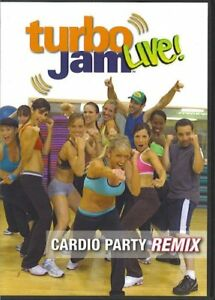 Turbo Jam Live-Cardio Party Remix-new and sealed dvd