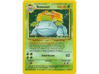 Venusaur -- Holo Rare -- Base Set -- 15/102