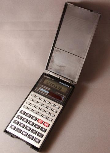 vintage casio calculator