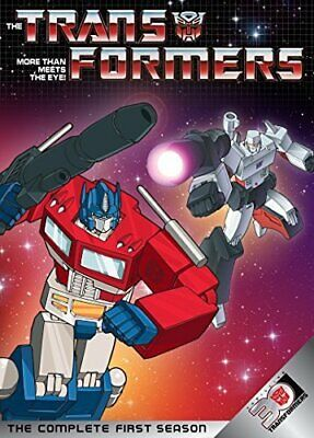 TRANSFORMERS - More Than Meets The Eye! Complete First Season 3-DVD (More Than Meet The Eye)