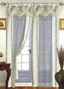 Ivory Curtain Panels