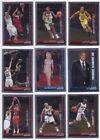 Bowman Chrome Topps Lot Basketball Trading Cards