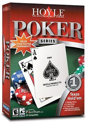 Computer Games - Hoyle Poker Series PC Games Windows 10 8 7 XP Computer texas hold 'em omaha stud