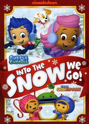 Bubble Guppies / Team Umizoomi: Into the Snow We Go [New DVD] Full Frame, Sens - Bubble Guppies Movie