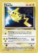 Pikachu Promo Card