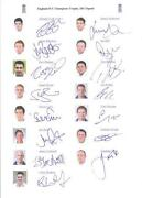 England Cricket Memorabilia