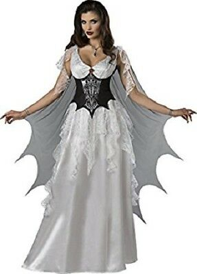 Incharacter Vampire Countess Wings Monster Adult Womens Halloween Costume 11100