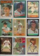 Will Clark Baseball Card Lot