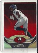 2011 Bowman Platinum Red Refractor