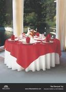 Blue Oval Tablecloth