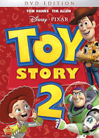 Toy Story 2 DVD (inlcudes Mickey's Once Upon A Christmas DVD