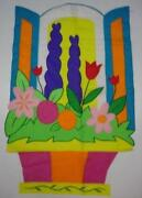 Large Spring Garden Flags
