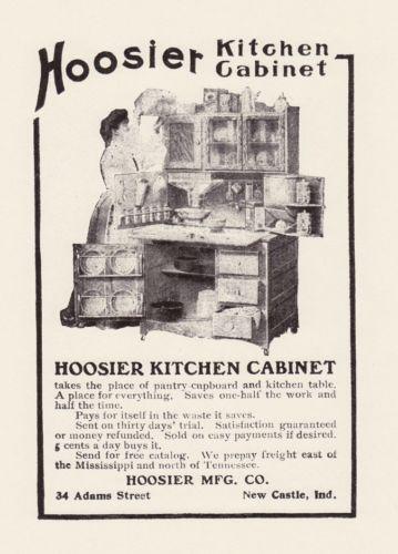 hoosier kitchen cabinet | ebay