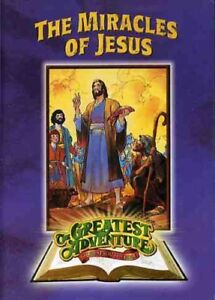 Greatest Adventures of the Bible: Miracles Jesus [New DVD] Subtitled, Standard