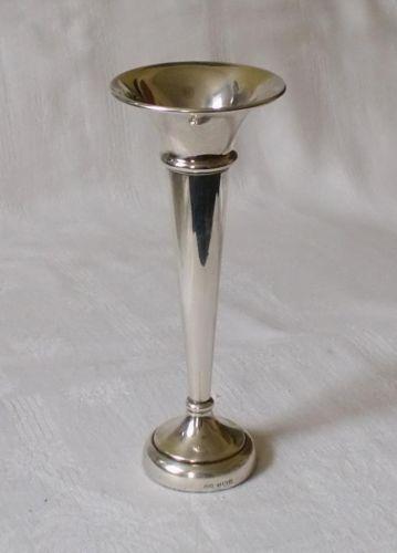 Silver Trumpet Vase Ebay