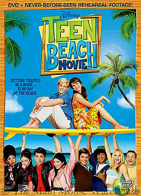 Disney Teenager Summer Island Musical Bikers vs Surfers Teen Beach Movie on DVD - Teen Beach Biker