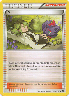 Pokemon N - 105/124 - Uncommon NM-Mint, English