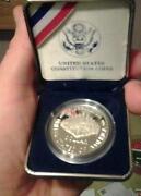 1987 Constitution Silver Dollar