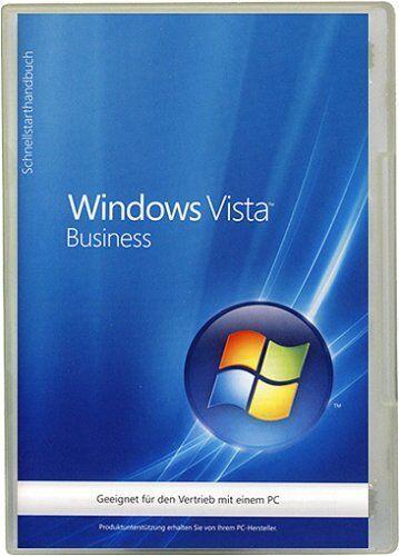 Microsoft MS Windows Vista Business 32 Bit OEM Vollversion SP1 Deutsch/ML