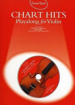Guest Spot: Chart Hits Playalong For Violin with CD