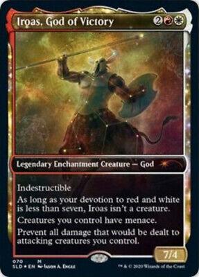 1x MTG Secret Lair Drop Series Iroas, God of Victory - Foil, NM-Mint, English