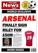 Arsenal Birthday Card