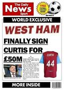 West Ham Birthday Card