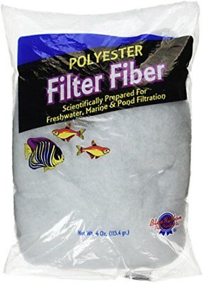 Blue Ribbon Pet Products Ablply4 Polyester Floss Bag Filter Media, 4-Ounce ()