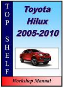 Hilux Repair Manual