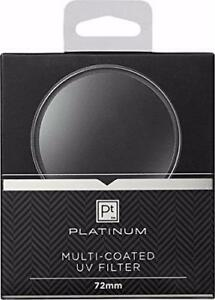 PLatinum- 72mm Multi-Coated UV Lens Filter - Clear (PT-MCUVF72)