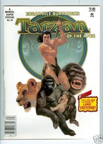 Marvel Comics Super Special #29 VF 1983 Tarzan