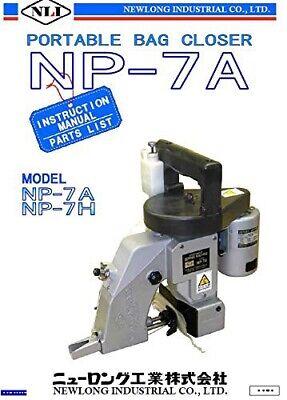 Np-7a Newlong Industrial Japan Portable Bag Closer Stitcher 1 Thread Cone
