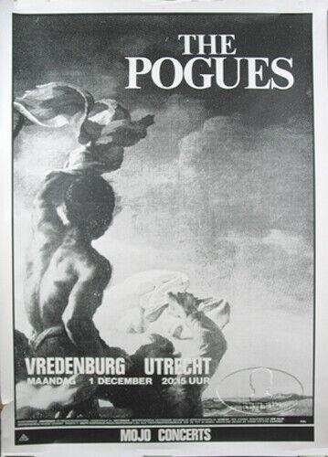 THE POGUES 1986 RUM SODOMY & LASH TOUR CONCERT POSTER