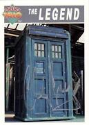 Dr Who Signed Card
