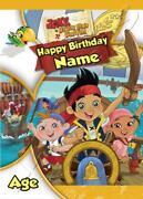 Jake and The Neverland Pirates Birthday
