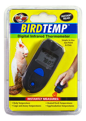 Zoo Med BirdTemp Digital Infrared Thermometer