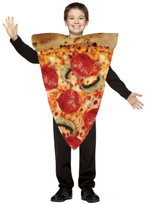 Kids Pizza Costume (Pizza Kids Medium Halloween Costume)