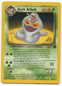 Dark Pokemon Cards | e...