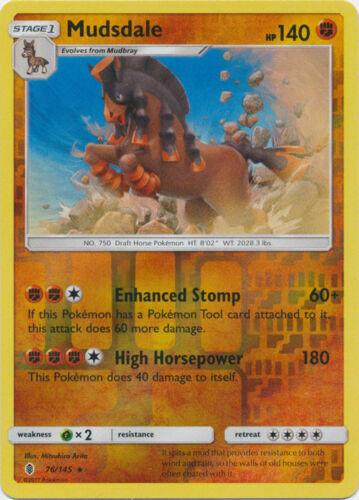Pokemon MUDSDALE SM20 PROMO BLACK STAR HOLOFOIL NM CARD PRERELEASE GUARDIANS