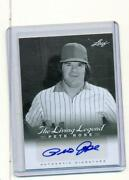 Pete Rose Signed Card