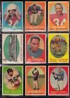Vintage Football Card Lot Topps