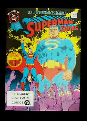 BEST OF DC BLUE RIBBON DIGEST #59 DC Comics 1985 SUPERMAN Lex Luther Supergirl