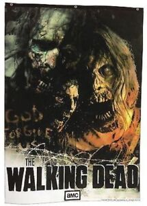 THE WALKING DEAD ZOMBIES BANNER very large