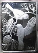 Franklin Mint Silver Ingots