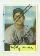 1996 Mickey Mantle Refractor