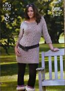 Ladies Dress Knitting Pattern