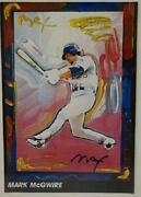 Peter Max Signed