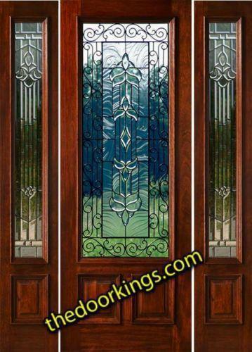 Exterior Door With Sidelights Ebay